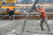 مراحل ساخت ساختمان بتنی(5) بتن ریزی فونداسیون